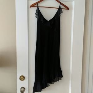 Black cocktail dress size probably 2